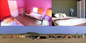 Das Masirah Beach Camp schlafen direkt am Spot - Vom Bett aufs Brett