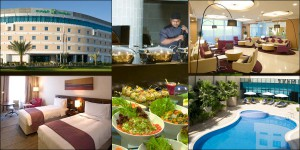 Holiday Inn in Muscat Seeb, perfect connected to Nizwa Highway and close to Kitebeach Muscat