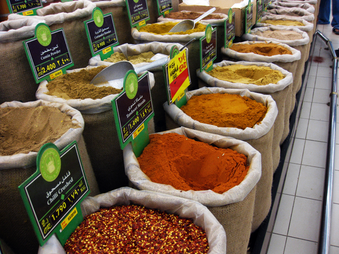 Spices at the Suq - Sultanate of Oman Travel