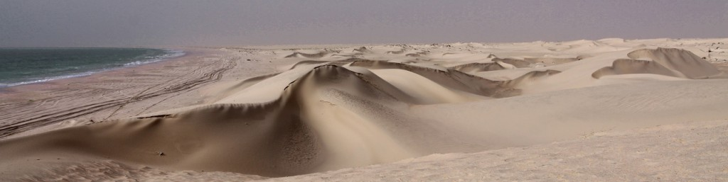 Breathtaking Scenery of the sugar dunes of Al Khaluf creates the background for an unforgettable