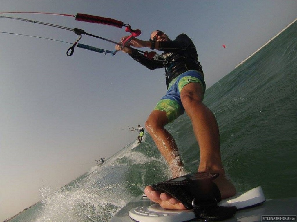 GoPro-Ausflug am Kitebeach von Muscat, Al Hail neben The Wave Musat